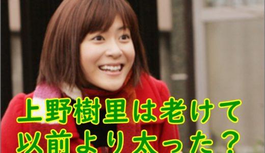 上野樹里は老けたし前より太った?若い頃の可愛すぎる画像と比較!
