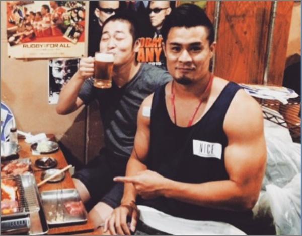画像】田村優はイケメンで筋肉がヤバい!理由はハーフで沖縄育ち