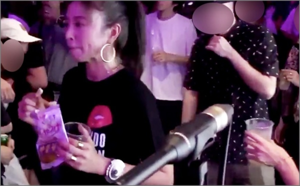 動画】片瀬那奈ばかうけ食べながらダンスがダサい?Tシャツも酷評 ...