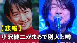 【比較画像】小沢健二が劣化して老けたと噂!太った姿に昔のオーラなし?