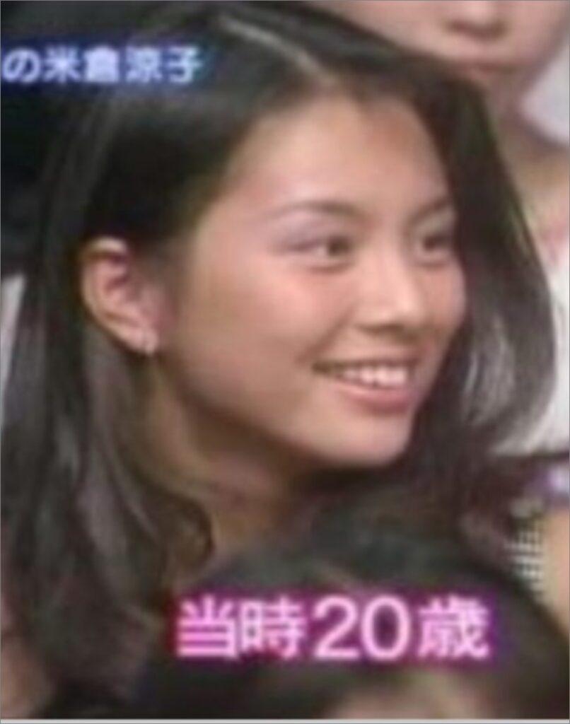 【比較画像】米倉涼子が老けたと話題に?若い頃が可愛いすぎたと噂も!